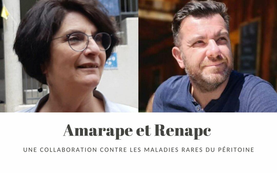 AMARAPE et RENAPE : Une collaboration contre les maladies rares du péritoine